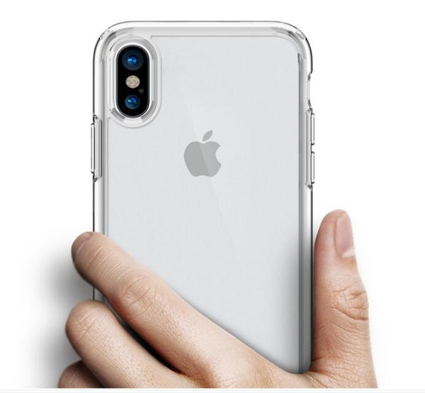 For Iphone X 8 7 6 6S Plus Case Soft Clear Cover 0 3mm TPU Silicon Gel  Iphone7 Phone Cases For Iphone8 Samsung Galaxy S9 Clone Phone Customize  Phone