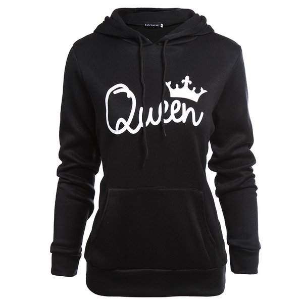 Paare, König, Dame Hoodies Frauen Kleidung Männer Hoodies Frühling Herbst Mode Sweatshirts