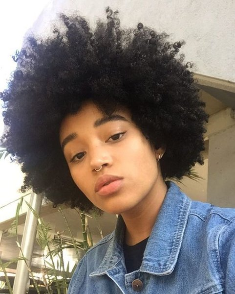 new hairstyle lady soft brazilian Hair African Ameri kinky curly wig Simulation Human Hair afro short curly wig for lady in stoc