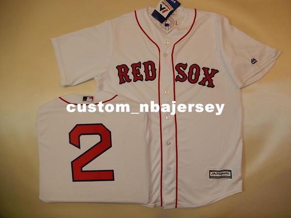 Cheap custom XANDER BOGAERTS #2 SEWN Cool Base Baseball Jersey Stitched Customize any name number MEN WOMEN BASEBALL JERSEY XS-5XL