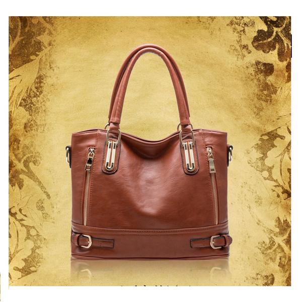 Ladies designer luxury handbags purses leather tote bags cross shoulder four colors 1 pcs/ lot 2018