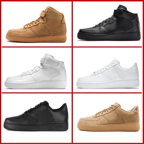 Alta calidad clasicos Zapatillas Nike Air Force 1 07