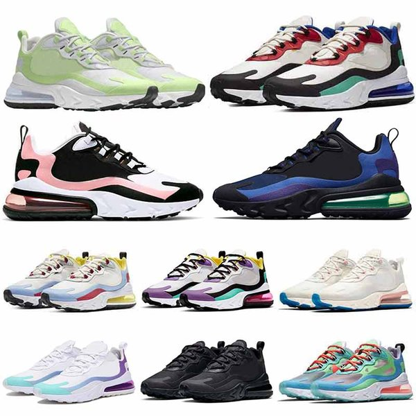 Compre Nike Air Max 270 React Off White Vans Asics In My Feels BAUHAUS Reacts Trainers Zapatillas De Running Para Hombre Blanqueado Coral Optical