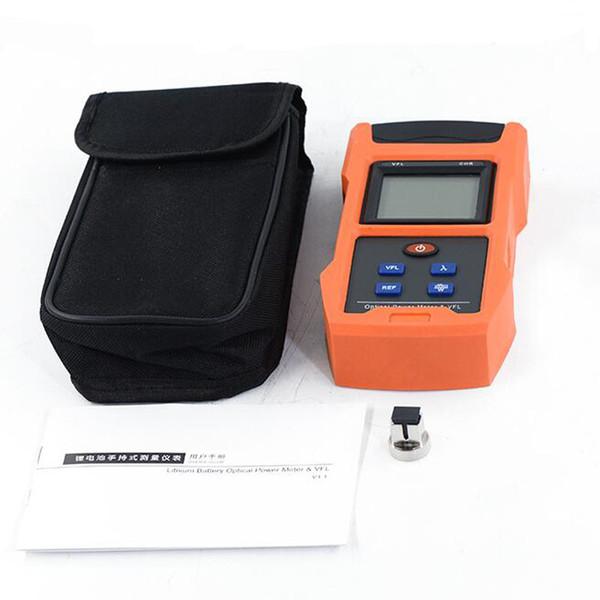 Handheld TL563 Fibra FTTH Medidor De Potência Óptica-70dBm- + 10dBm Fonte de Luz Laser Óptico 1mw 10mw 20mw