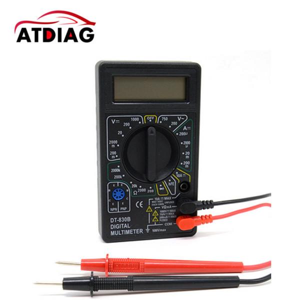 LCD Dijital Multimetre DT830B testi DC AC Gerilim DC Akım Direnci test cihazı Maliyet etkin AC / DC Ampermetre Voltmetre
