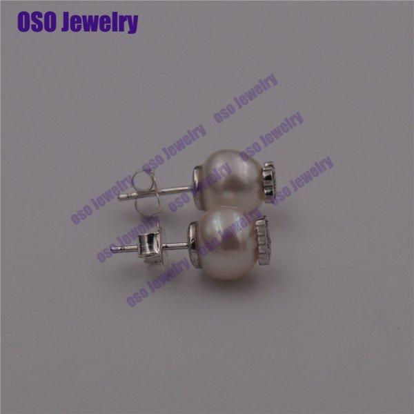 pendientes plata de ley 925 mujer silver 925 stud earrings for women fine jewelry wholesale