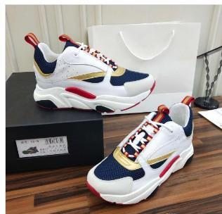 2019 new hot high quality B22 men's sports shoes casual shoes fashion women's French designer brand casual shoes 36-46