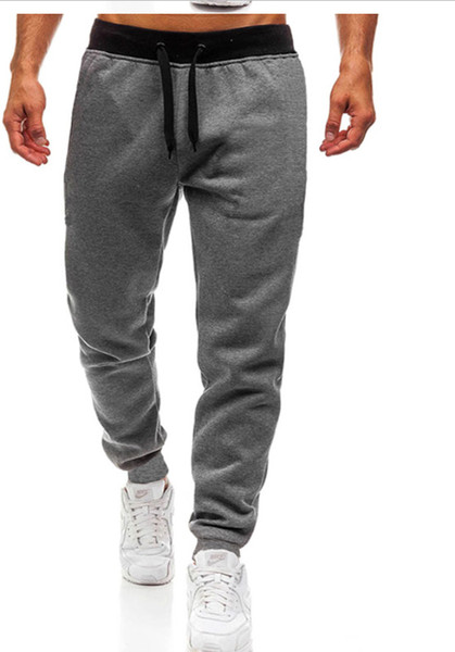 best selling High Quality Jogger Pants Men Fitness Bodybuilding Gyms Pants For Runners Brand Clothing Autumn Sweat Trousers Britches