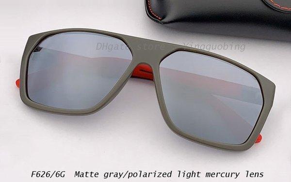 lente de mercurio de luz gris mate / polarizada