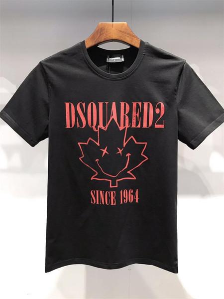 Новый 2019 Мужские летние футболки Плюс размер с коротким рукавом футболки с принтом из хлопка с хлопком Футболка 3D Дизайнерская одежда M-XXXL Golf Tshirt 08