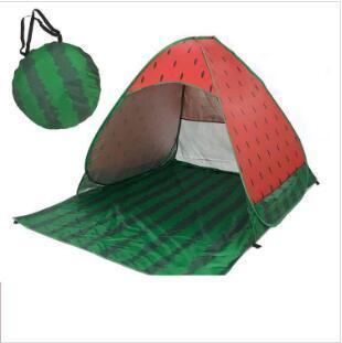 Strand Zelt Pop Up Strand Zelte Wassermelone Quick Sun Shelter Folding Gartenmöbel Outdoor Camping Zelt Portable Anti-UV Familienzelt LT827