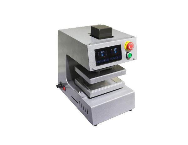 Oil Press Machine PURE ELECTRIC Auto dual heat plates rosin heat press machine with LCD panel ,No air compressor needed