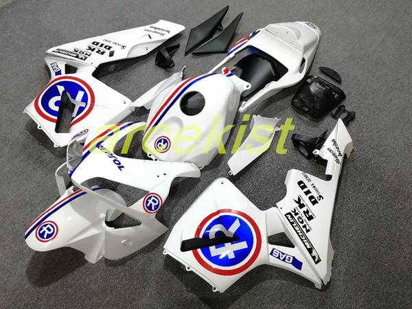 Calidad OEM Nuevos kits de carenados de ABS aptos para HONDA CBR600RR F5 2003 2004 03 04 CBR 600RR conjunto personalizado de carenado libre conjunto ventas calientes