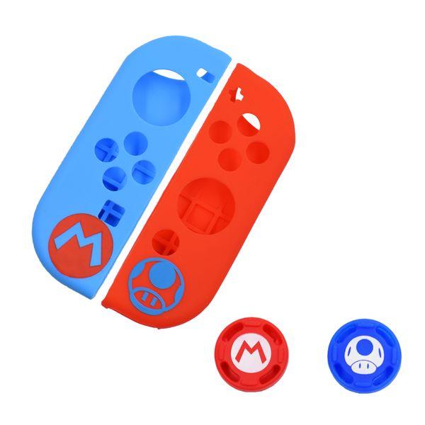 Mavi kırmızı