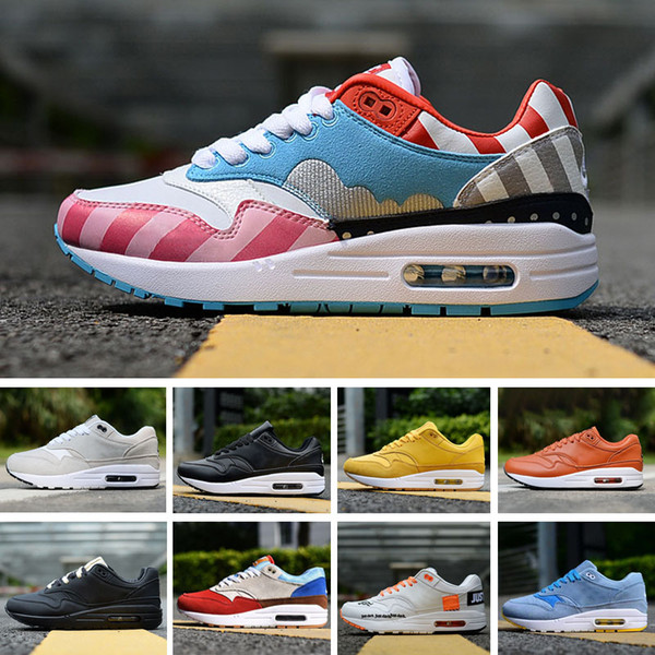 megvesz kiadási dátum: hatalmas eladás 87 Suede Mens Designer Running Shoes 2020 Women Casual Air Cushion ...