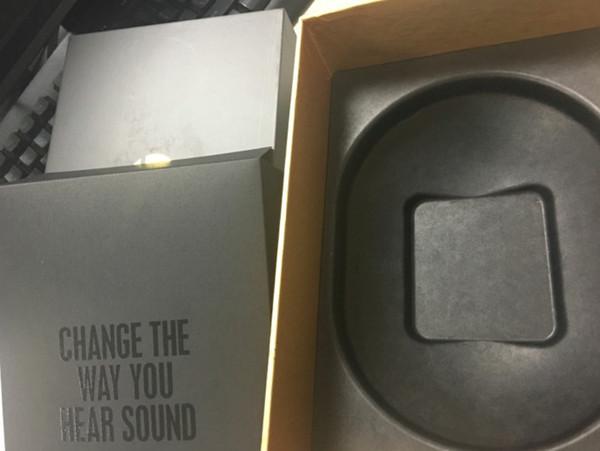 2019 hochwertige W1-Chip drahtlose Bluetooth-Kopfhörer-Kopfhörer mit Kleinkasten-Musiker-Kopfhörer-Schatten-Grau Dropshipping