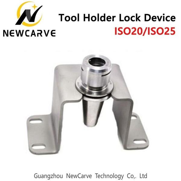 ISO20 ISO25 outil de verrouillage Porte-couteau Siège Bloc de verrouillage Dispositif de verrouillage à billes coupe pour la broche ATC Newcarve