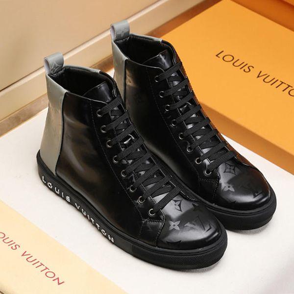 Herrenschuhe Mode Stiefel High Top Fashion Sneakers Trend Heißer Verkauf Komfortable Mann Freizeitschuhe Outdoor rutschfeste Atmungsaktive Männer Schuhe M # 53