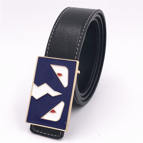 20 Colors Fashion Designer Belts High Quality Luxury Leather Belts for Women Men Gold Silver Letter Buckle Casual Belt Birthday Gift
