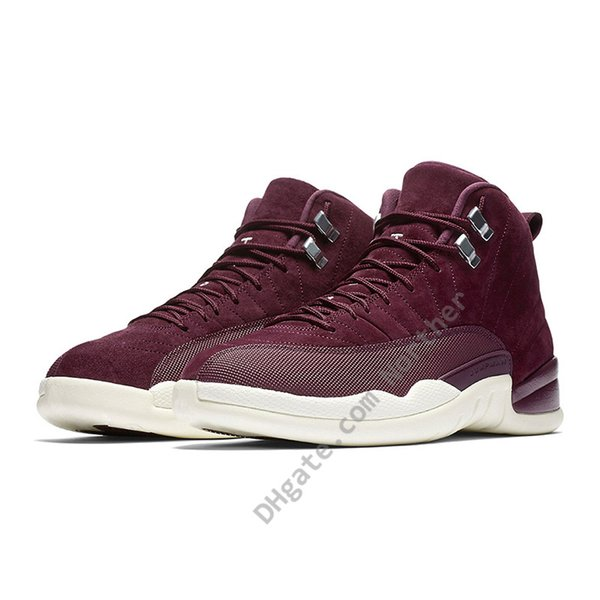 best place autumn shoes the best Acheter Nike Air Jordan 12 Jordans 2019 CNY OVO PNSY 12 12s Chaussures De  Basketball Hommes CP3 Grippe Game Gym Red Wings Sneakers Mens PRM Bordeaux  ...