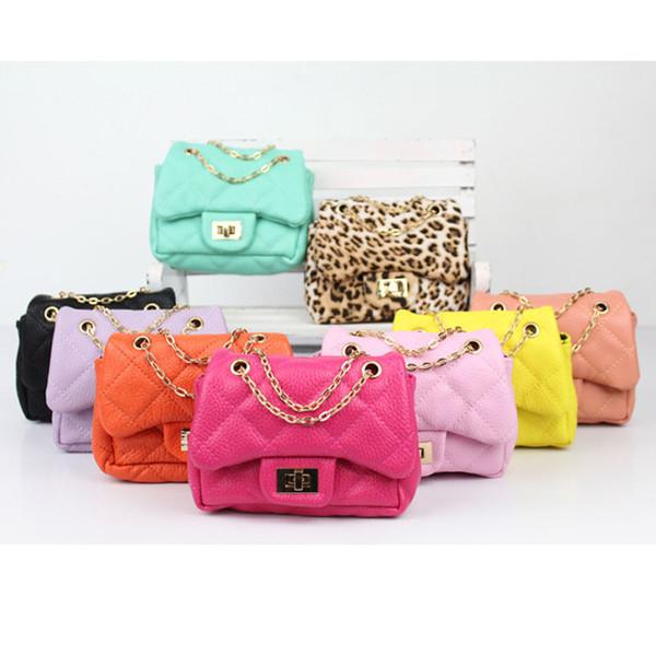 Baby Fashion Kids Shoulder Bag Little Girls Gifts Toddler Purse Handbag Children Mini Messenger Bag PU Leather