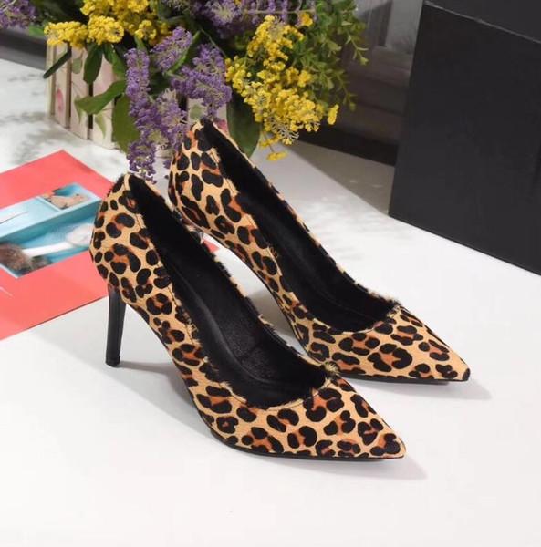 Gelin Kadınlar Bayanlar Sandalet Moda Seksi Elbise Ayakkabı Sivri Burun Yüksek Topuklar Deri Glitter pompaları 2019 Marka Parti Düğün Ayakkabı