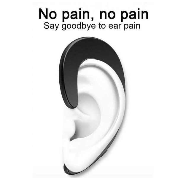 Uso indoloro Auricular Bluetooth Sin tapón para los oídos Auriculares inalámbricos Auriculares con gancho para la oreja Auriculares deportivos Auriculares con oreja única Auriculares