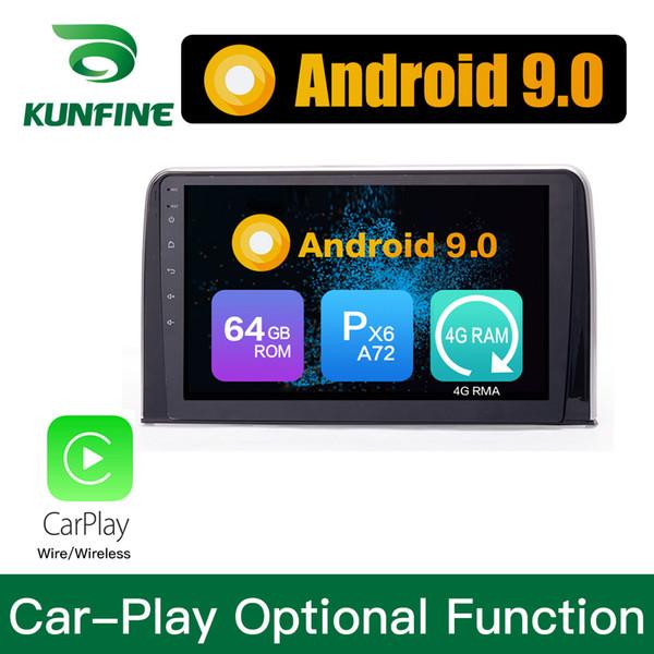 Android 9.0 Ram 4G Rom 64G PX6 Cortex A72 Car DVD GPS Multimedia Player Car Stereo Sat Nav Per Honda CRV 2017 Unità principale