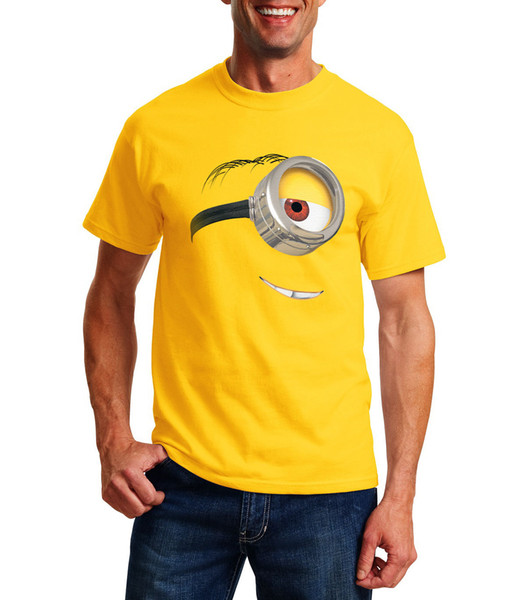 ac5dc12f5 New Funny T-shirt Despicable Me Stuart The Minion - Joke Gift For Him Funny