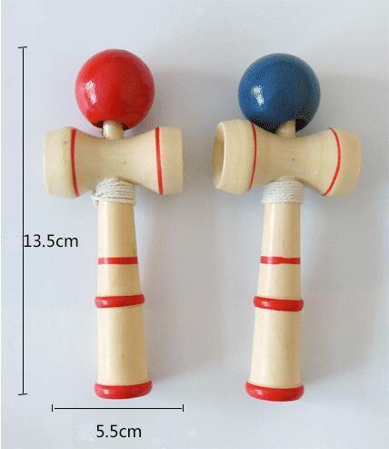 Детские игрушки умение шар Японский традиционный меч Бал Дерево игры Бал Обучающие игрушки Подарки
