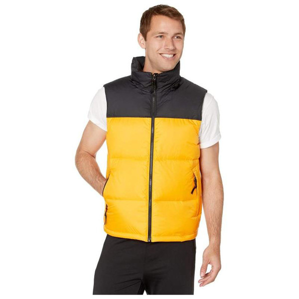 best selling Mens Down Men Women Winter Jacket Coat High Quality Casual Vests Mens Down Outerwear Size S-XL
