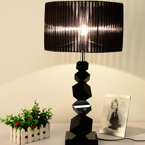 2019 Black Crystal Table Lamps Modern Lamps Personality Crystal Bedroom  Table Lamp Creative Simple Table Lamps For Bedroom E27 From  Zhiguanglighting, ...