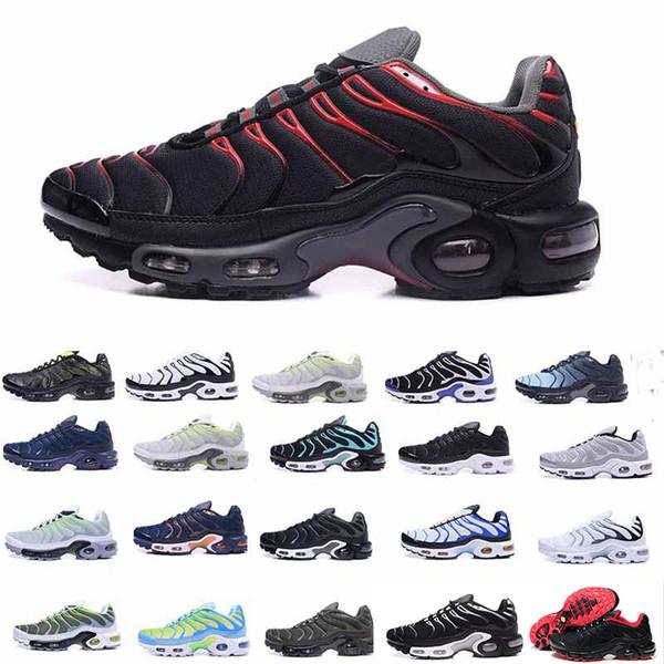 2019 Nova Chaussures AIR TN Além disso Mal Grey Em metálicas Mulheres Sports Mens Designer de moda de luxo de luxo mens sandálias mulheres grife sapatos