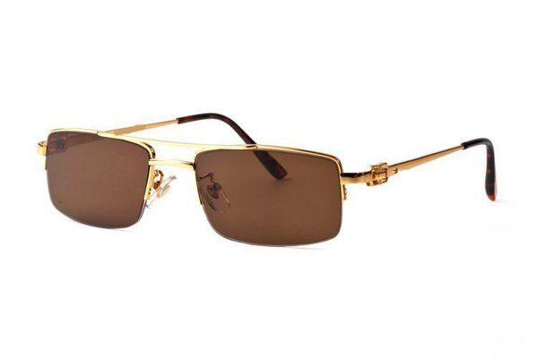 Luxary-Butterfly Glass lens Metal hinge Designer Fashion Double bridge Men Women Sunglasses Sport Vintage Sun glasses With box