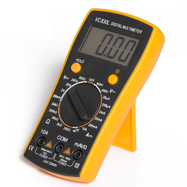 Backlight For Electricians Hobbyists Measuring Tool LCD Display Everyday Use Digital Multimeter Household Use Multifunctions