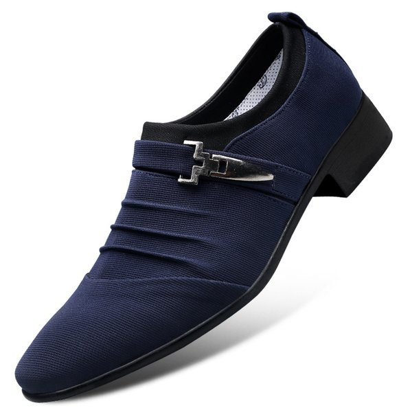 Homens Vestido Sapatos Men Formal Respirável Sapatos de Luxo Moda Noivo Do Casamento Oxford Zapatos Vestido Plus Size 38 48