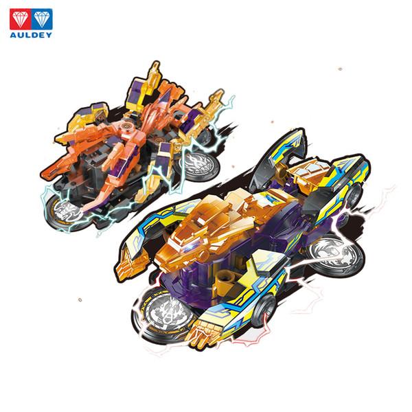 AULDEY Screechers Wild Поворот на 360 градусов Transformation автомобилей Игрушки для сращивания Захват Комбинированные вафельные Деформация автомобилей игрушки Интеллектуальные игрушки