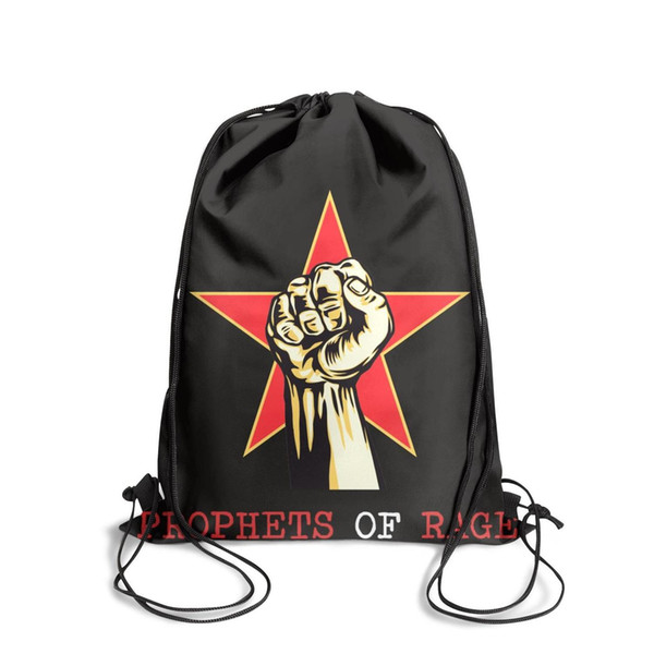 Sports backpack Rage Against The Machine fashion vintage Classicpackage durable yoga backpack pullstring Travel Beach Travel Fabric Backpack