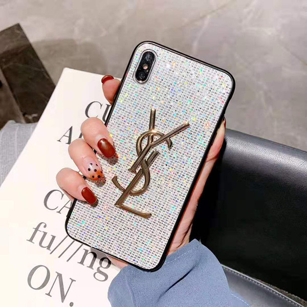 Роскошный Дизайнер Мода Чехол для телефона против царапин для iPhone XS Max XR X 8 7 6