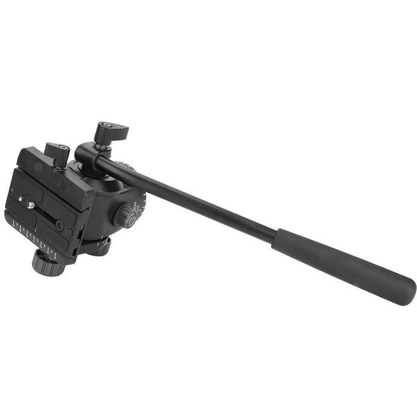 SJB KINGJOY VT-1520 Hydraulic Fluid Tripod Camera Pan Head QR Plate For DSLR Cameras