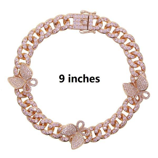 cavigliera colore rosa 23 centimetri