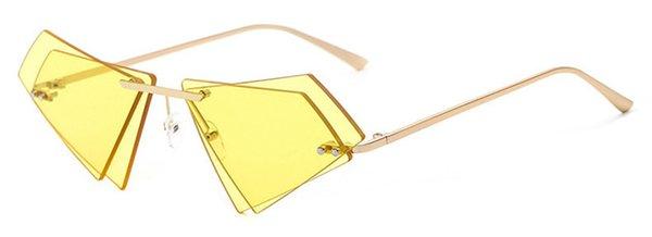 Colore delle lenti: giallo dorato colorato