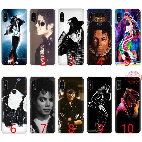 Michael jackson música dance soft silicone tpu phone case para redmi note 4 4x5 6 pro 6a s2 capa