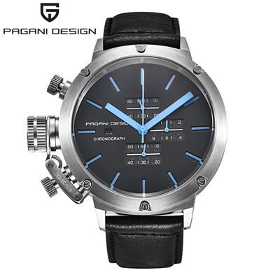 TAG Sports Montres Hommes Multifonction Plongée Chronographe Quartz-Montres Mens Relogio Masculino montre en cuir de mode