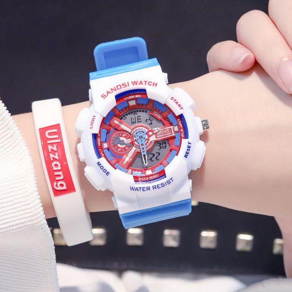 Супер Мода Мужчины Женщины G Стиль Спортивные Часы Army Watch LED Электронные Наручные Часы для Любителей Relogio Masculino