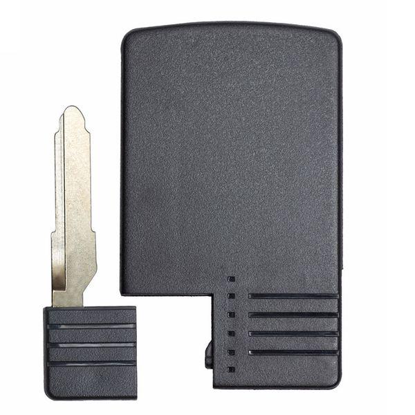 3Button Replacement Smart Card Remote Key Shell Case FOB UNCUT KEY FOR Mazda 5 6 CX-7 CX-9 RX8 Miata MX5