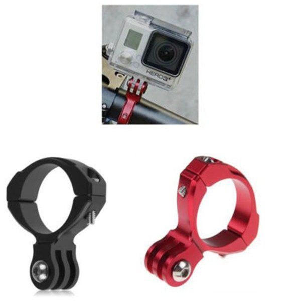 Motorcycle Bicycle Bike Cycle Aluminum Handlebar Bar Clamp Mount Tripods For Gopro Hero 1/2/3/3+Camera Accessories #671890
