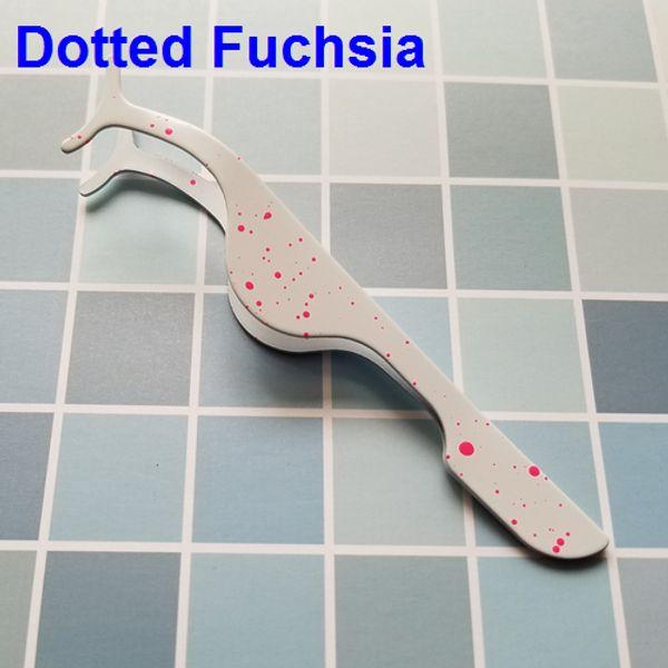 Dotted Fuchsia+PVC Bags