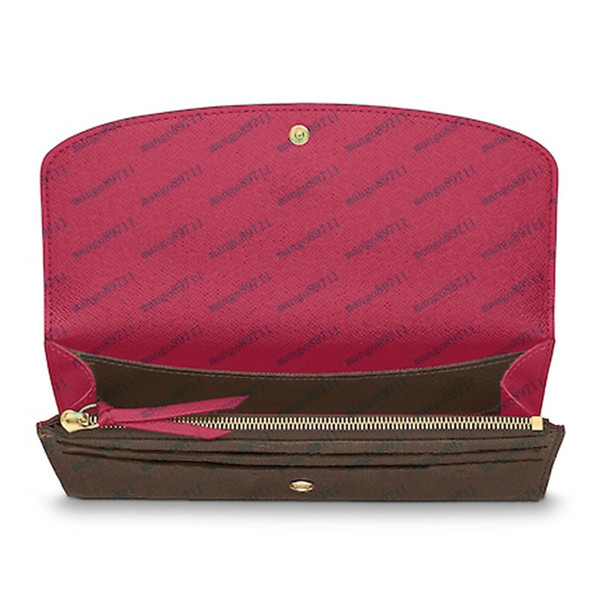 best selling wallet Women's Wallet Zipper Bag Female Designer Wallet Purse Fashion Card Holder Pocket Long Women Bag with Box