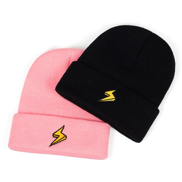Новая версия вышивки шерсти шляпы моды на открытом воздухе ветрозащитный теплая шапка Пара диких колпаков на открытом воздухе спортивного отдыха колпачком